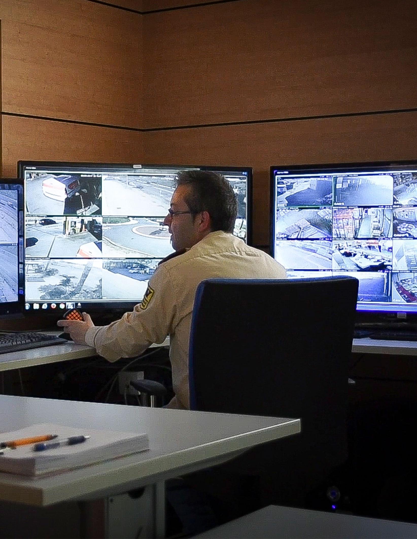 Centro de coordinación de seguridad Wincontrol