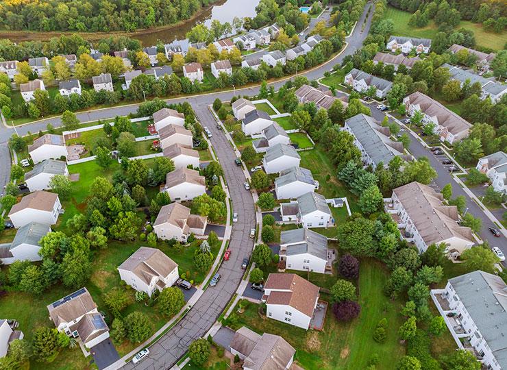 Rondas exteriores en comunidades y urbanizaciones