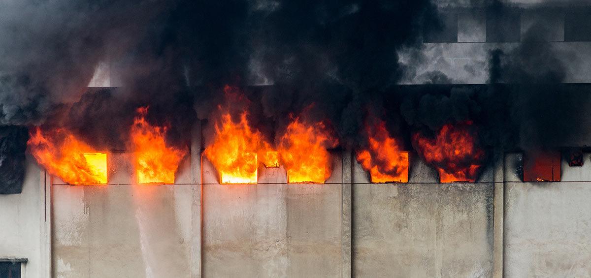 Incendio en mi nave industrial, ¿Qué hago?