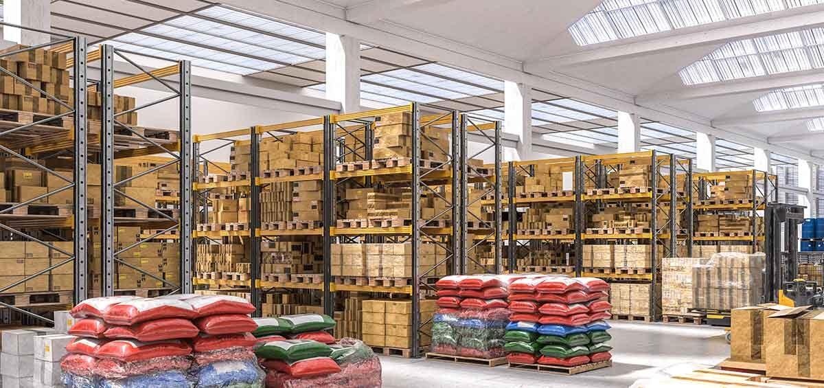 Material sanitario en polígonos industriales